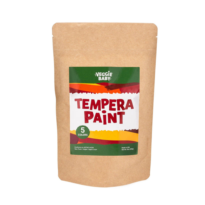 Veggie Baby Tempera Paint (Pack of 5)