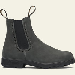 Blundstone-Rustic Black High Top Boot