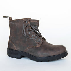 Lace Up Blundstones • Rustic Brown