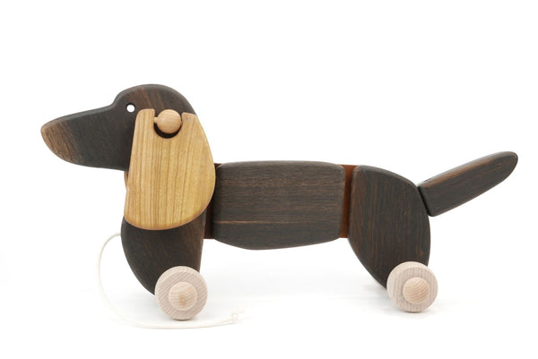 BAJO Dachshund Puppy Dark Oak
