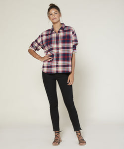 Sierra Flannel Shirt in Edie Plaid