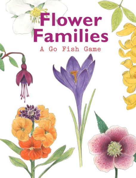 Flower Families, A Go Fish Game
