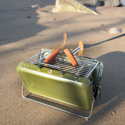 Briefcase Barbecue