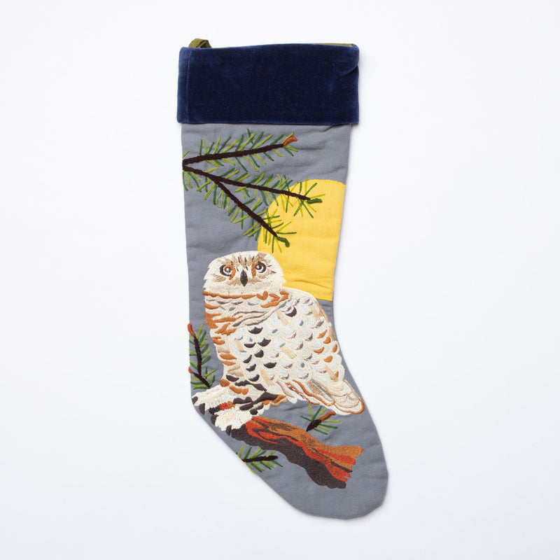 Forest Owl Stocking