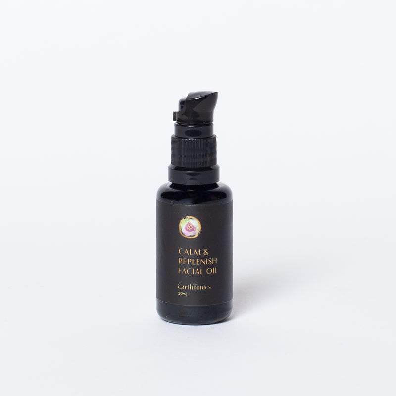 Calm & Replenish Facial Oil by Earth Tonic