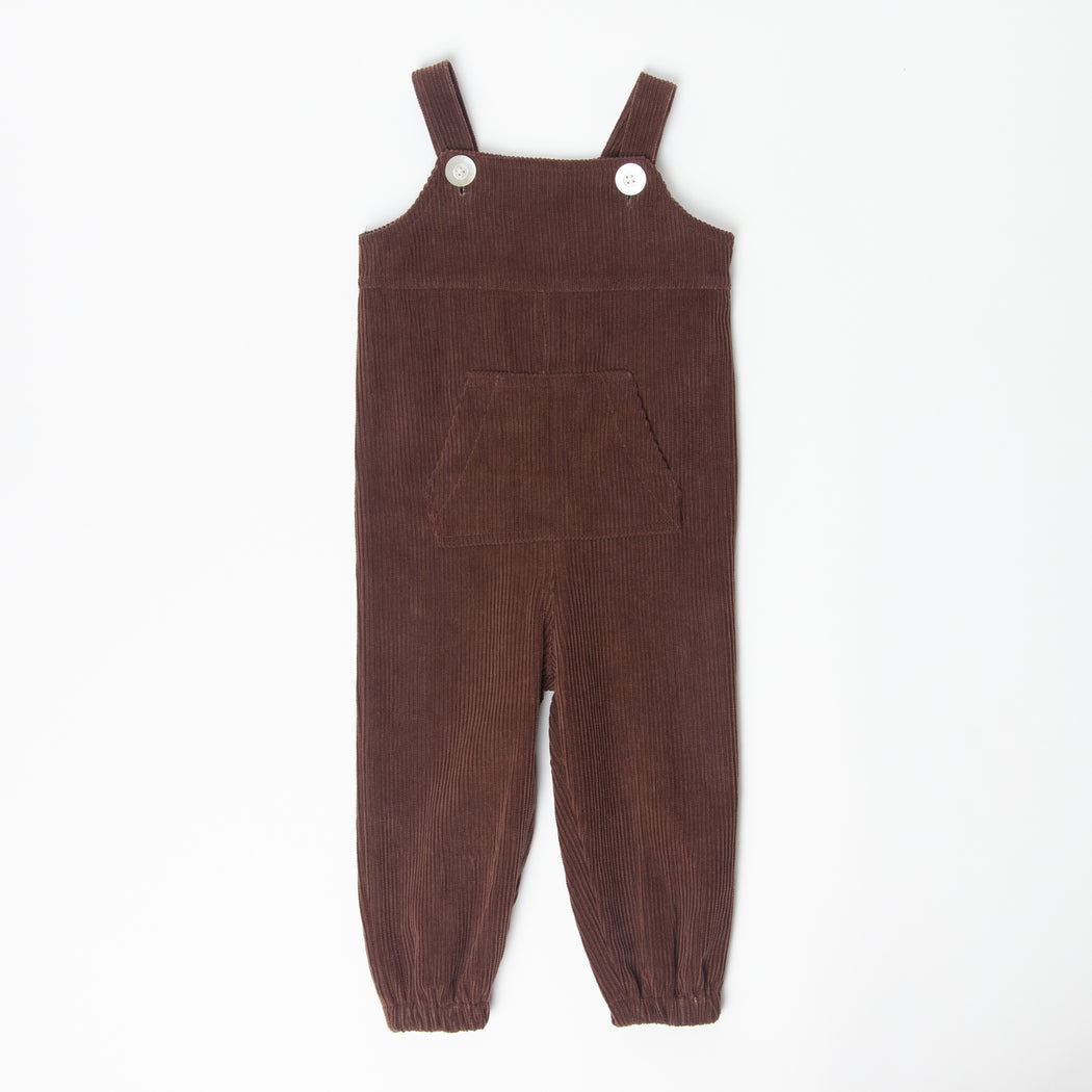 Classic Button Corduroy Overall