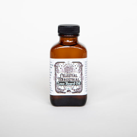Cellestial Terrestrial Zeus Beard Oil • 3 ounce