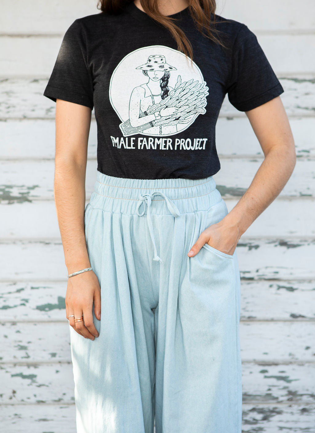 Female Farmer Project Tee