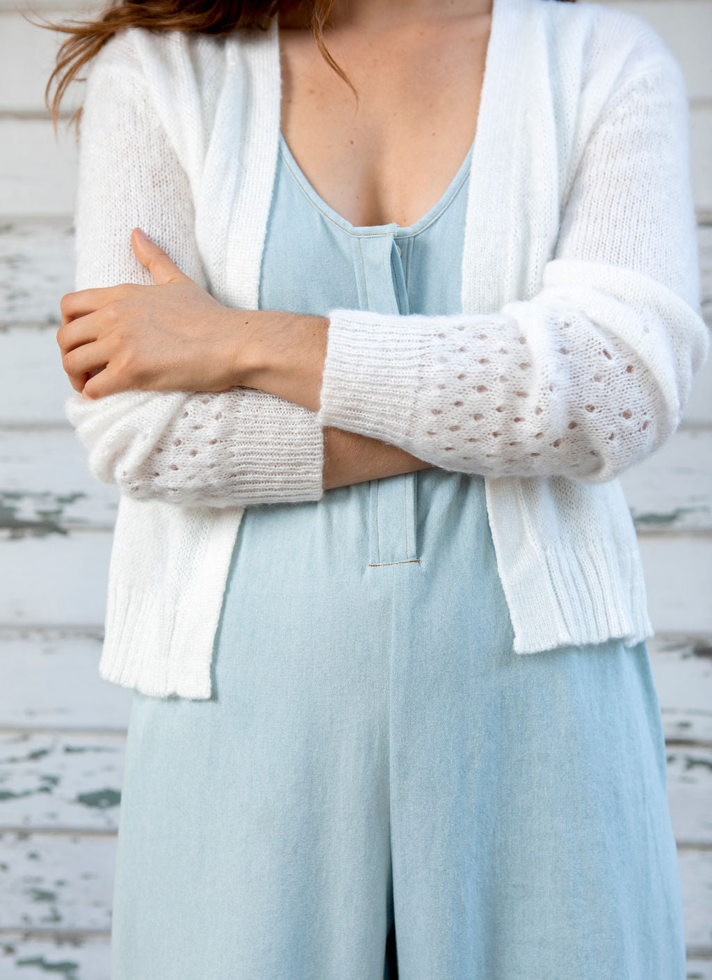 Sylvie Brushed Cardigan