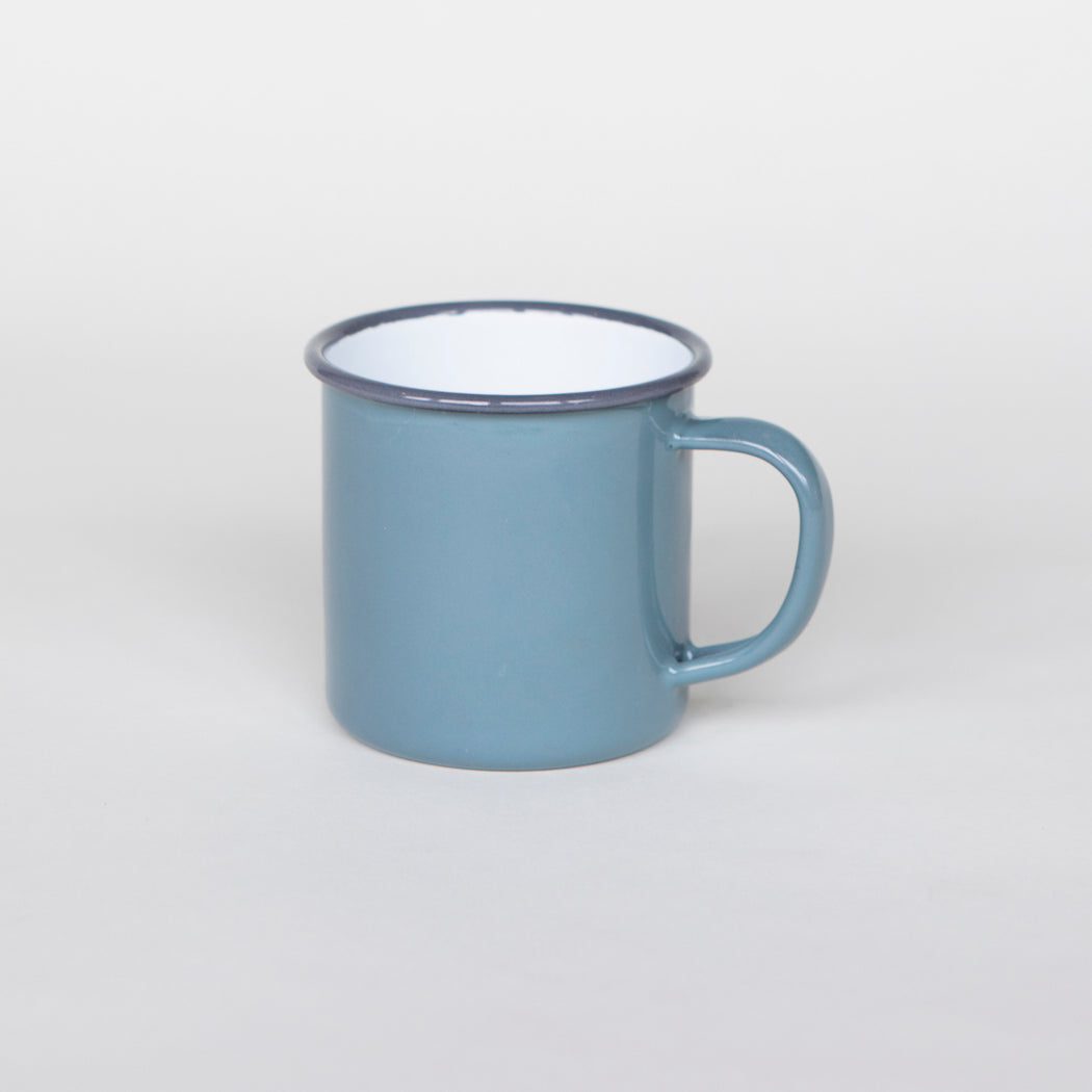 Falcon Enamelware Handle Mug • Pigeon Gray