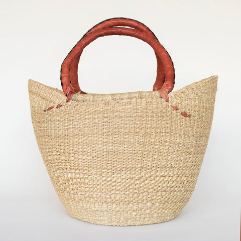 Fair Trade African V-Shape Shopping Tote