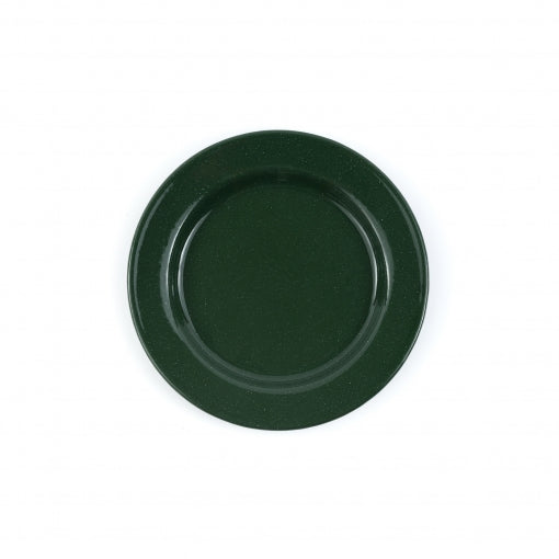 Stinson 10 inch Dinner Plate in Speckled Green
