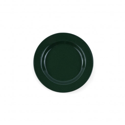 Stinson 8 inch Flat Salad Plate in Speckled Green