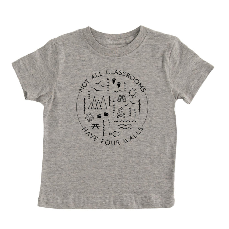 Not All Classrooms Have Four Walls Kids T-shirt