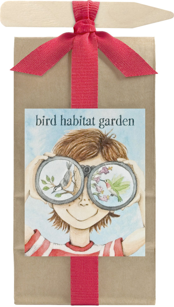 Kids Scatter Garden  - Bird Habitat