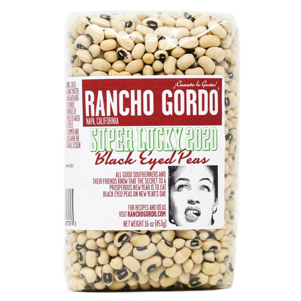 Rancho Gordo Black Eyed Peas