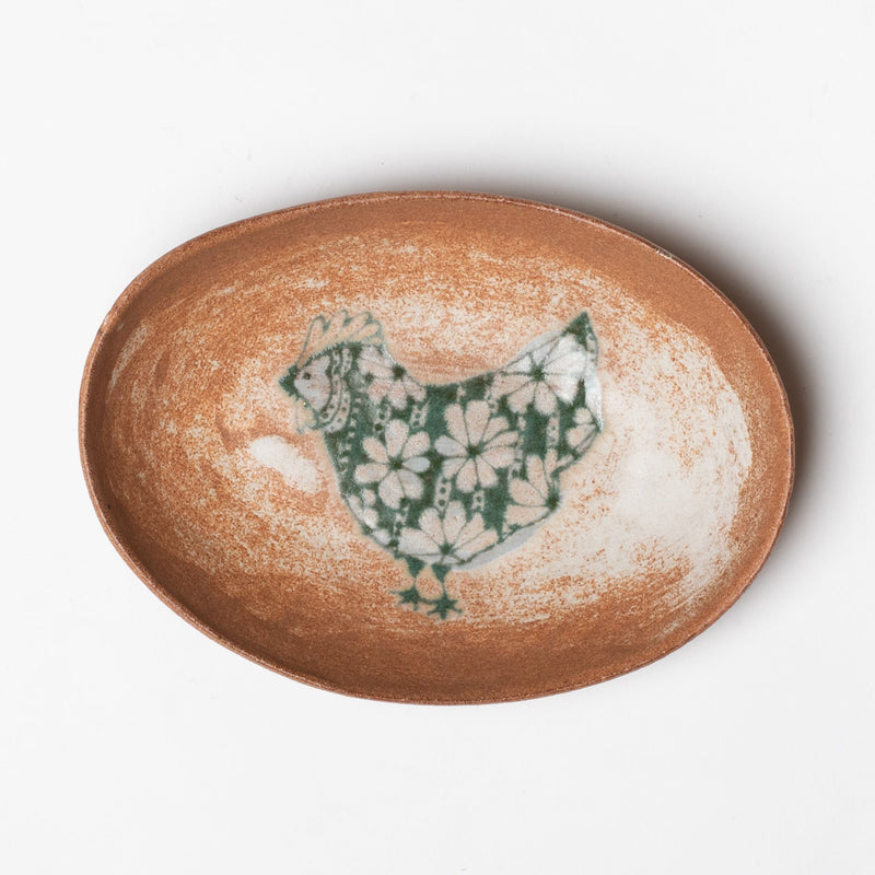 Spako Clay x Heritage Goods Oval Serving Dish