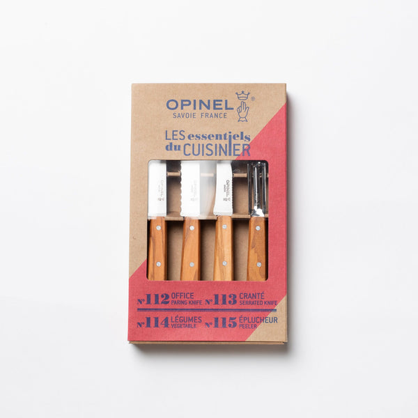 "Opinel ""Les Essentiels"" Kitchen Set"