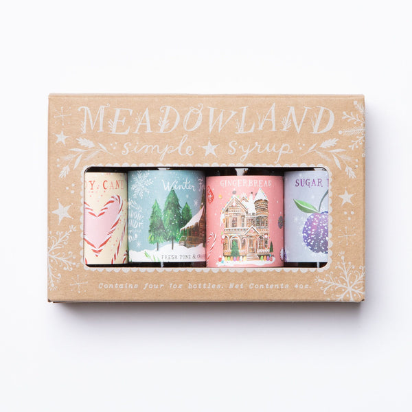 Wonderland Collection: Holiday Simple Syrup Sampler