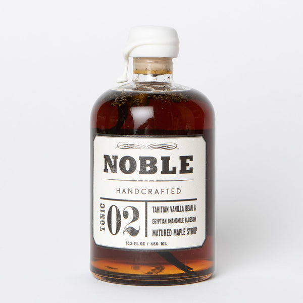 Maple Syrup: Noble Handcrafted Tonic 02