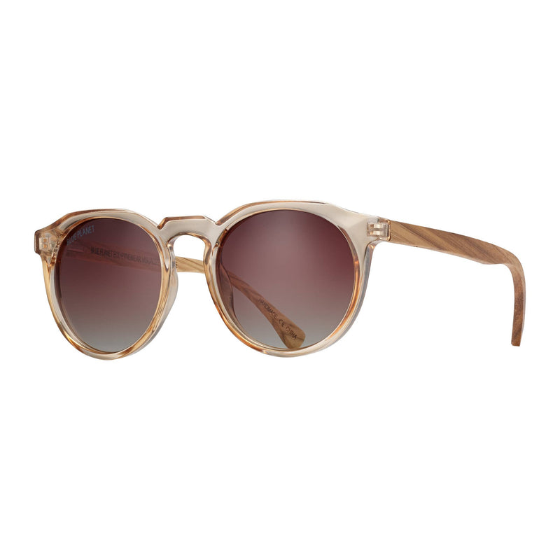 Brax Crystal Champagne / Walnut Wood / Brown Polarized