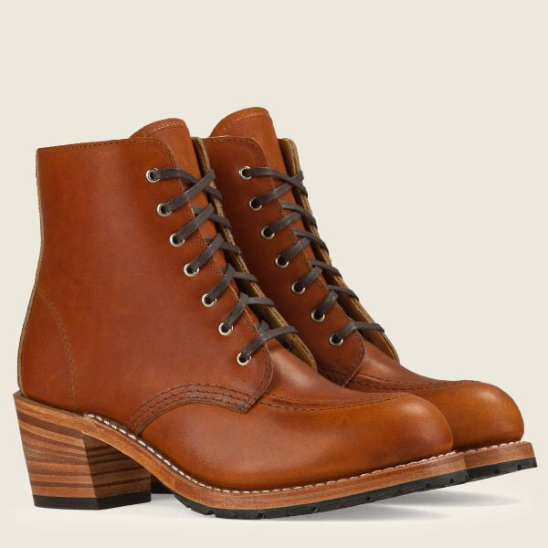 Clara Heeled Red Wing Boot