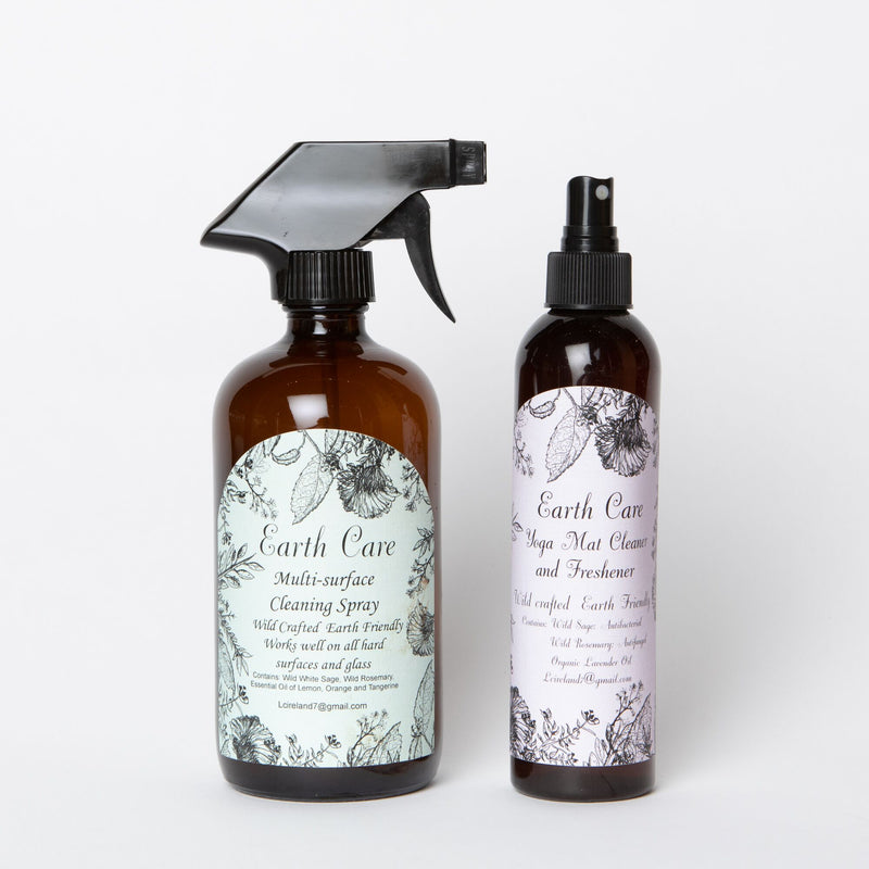 Earth Care Natural Yoga Mat Cleaner and Freshener
