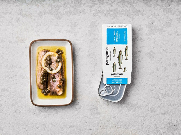 Lemon Caper Mackerel