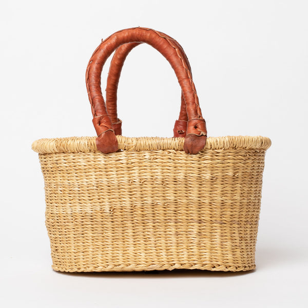 Short Mini Oval Basket