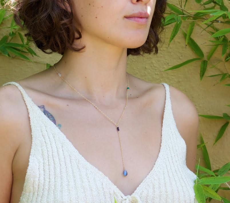 Jewelry Workshop: Lariat Necklace
