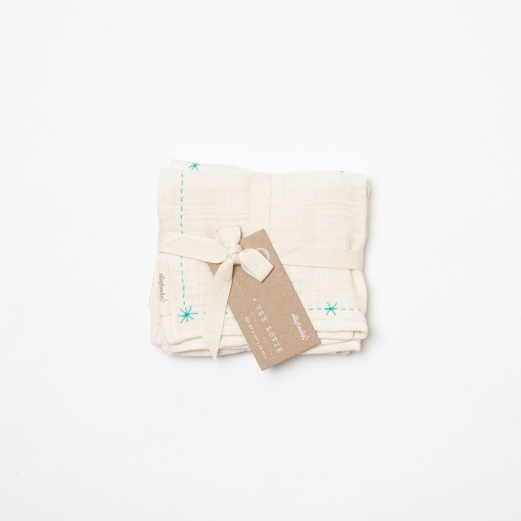 Organic Lovie Burp Cloth