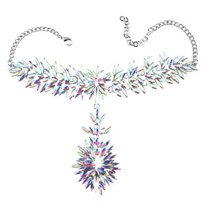 Toni Crystal Statement Necklace