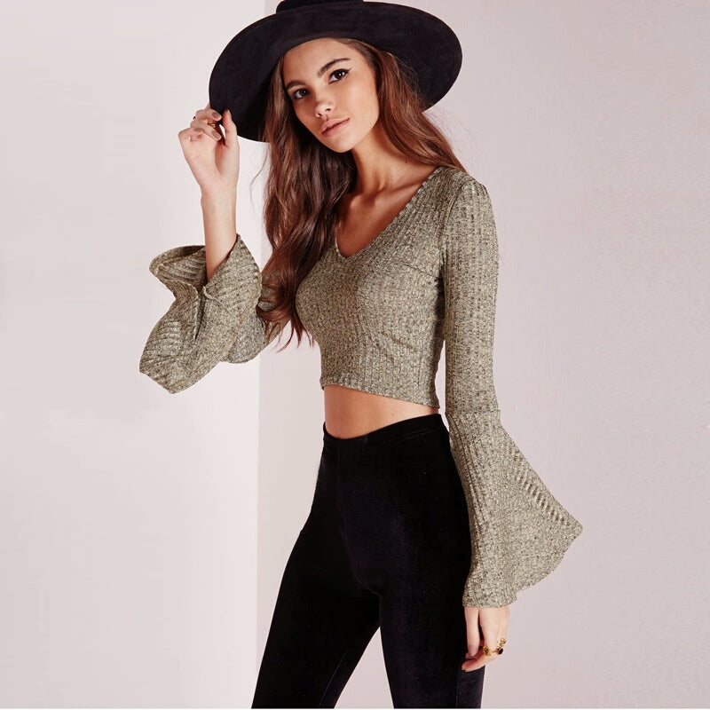 Tessa Cropped Sweater