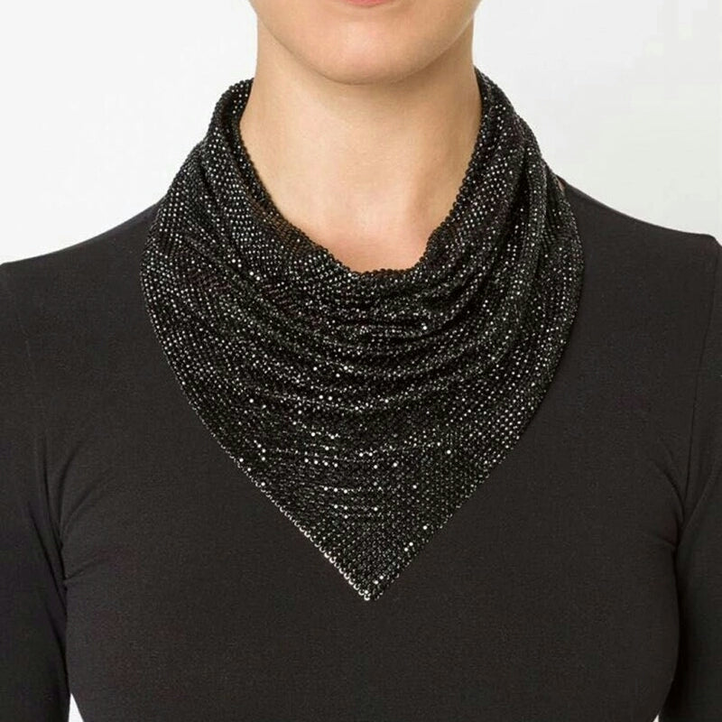 Sequin Collar Choker