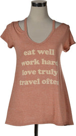 harristatum tee Eat Well Shirt