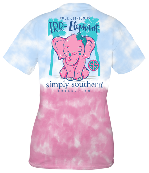 Simply Southern Your Opinion Elephant
