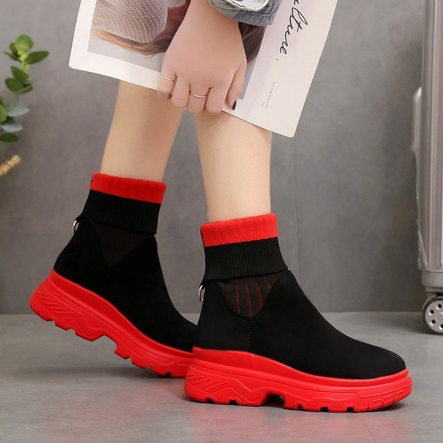 Adrielle Platform Sock Shoes