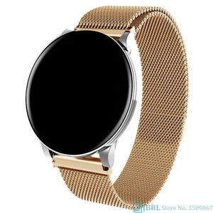 Round Smart Watch Women Men Smartwatch For Android IOS Electronics Smart Clock Wach Fitness Tracker New Smart-watch Wristwatch