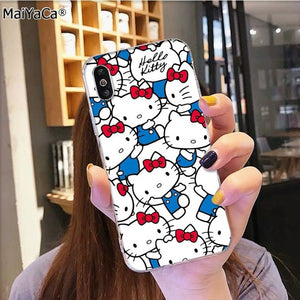MaiYaCa Hot Fashionable Hello Kitty on sell phone Accessories cover for iphone 11 pro 8 7 66S Plus X 5S SE XR XS XS MAX cover