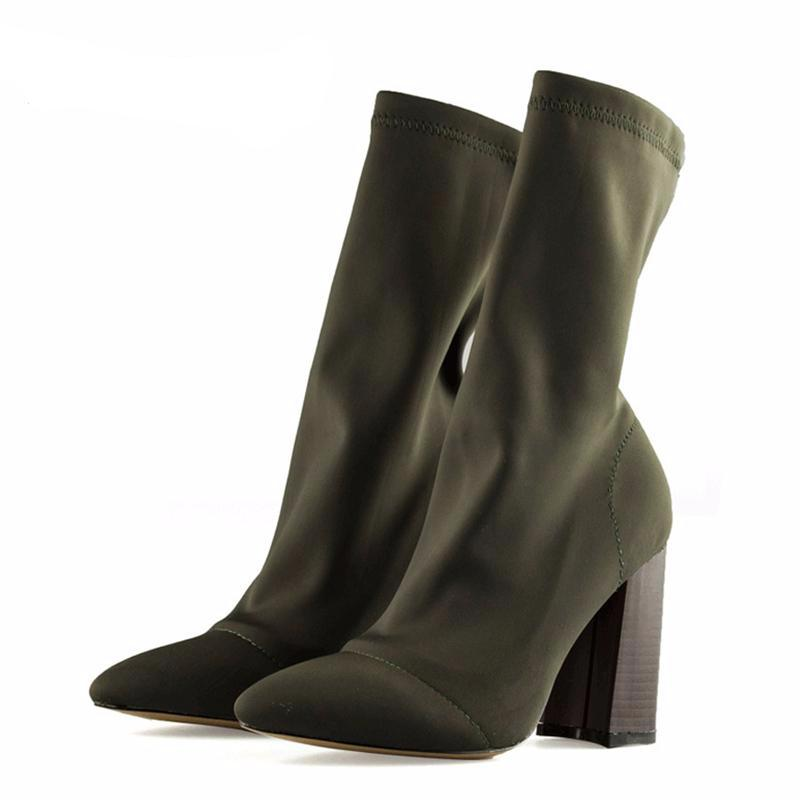 Kim Glove Pointed Boots