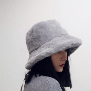 Retro Woolen Bucket Hat in 4 Variants
