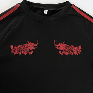 Double Dragon Crop Top