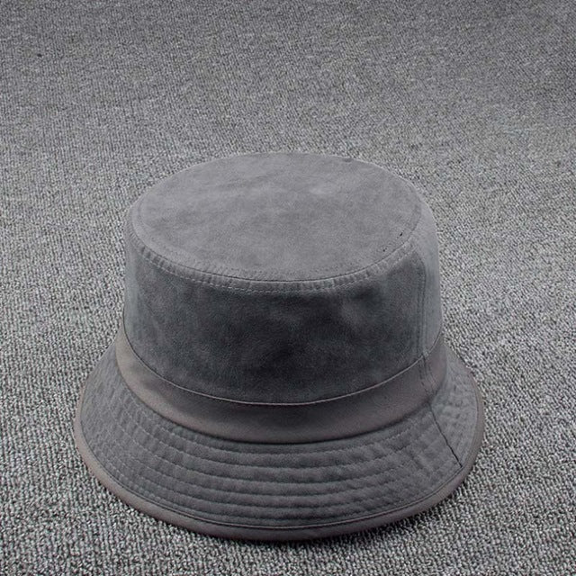 Suede Feel Bucket Hat