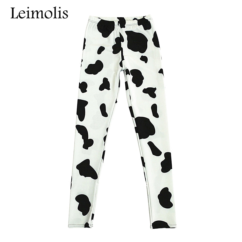 Cow Print Bottoms