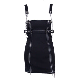 Elaine Chain-Strap Dress
