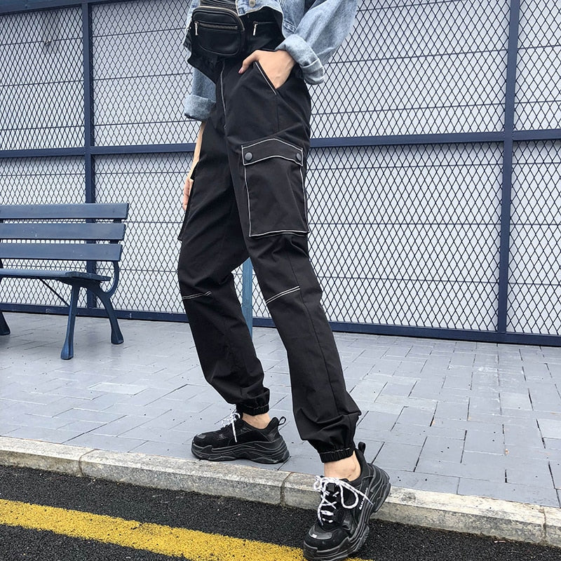 Stitched Cargo Pants