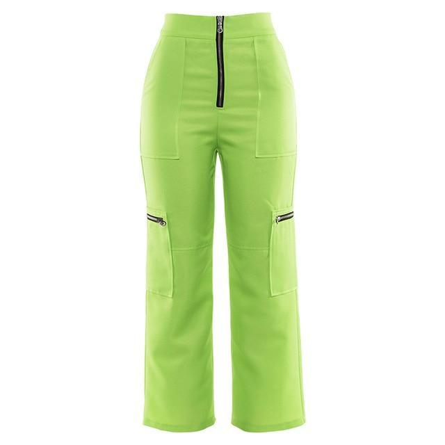 Copy of Fluoro Zipper Cargos