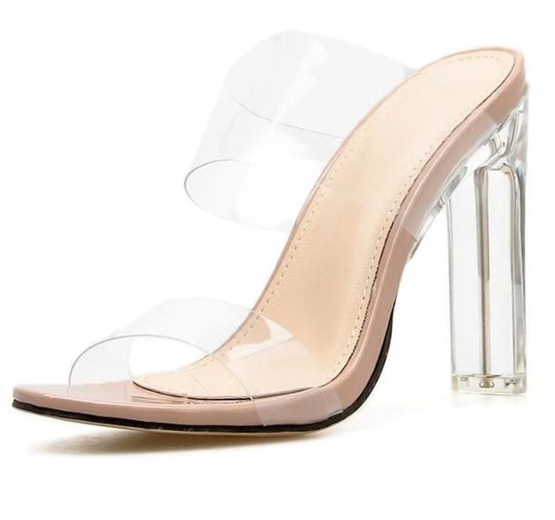 Crystal Clear Mules