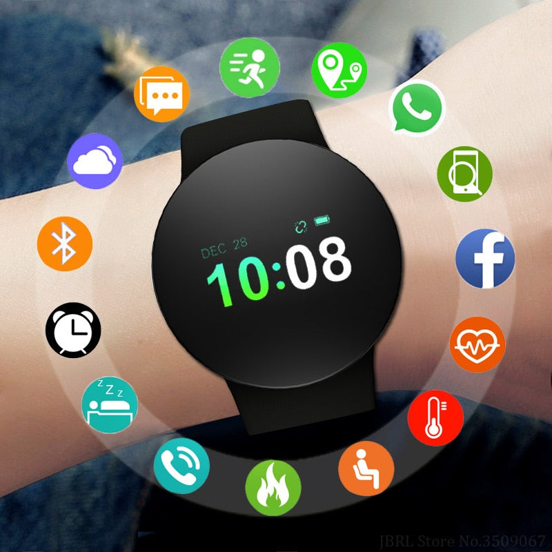 Assorted Smart Watches Women/Men For Android IOS w/Fitness Tracker