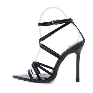 Akila Pointed Strappy Heel